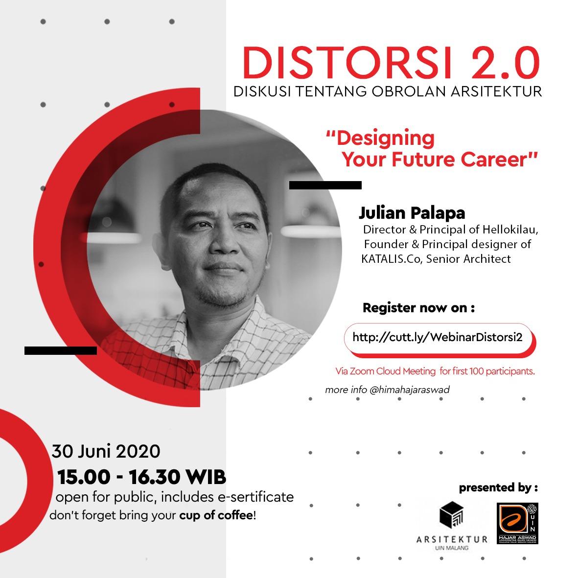 Seminar Online Series # 2 Designing Your Future Career