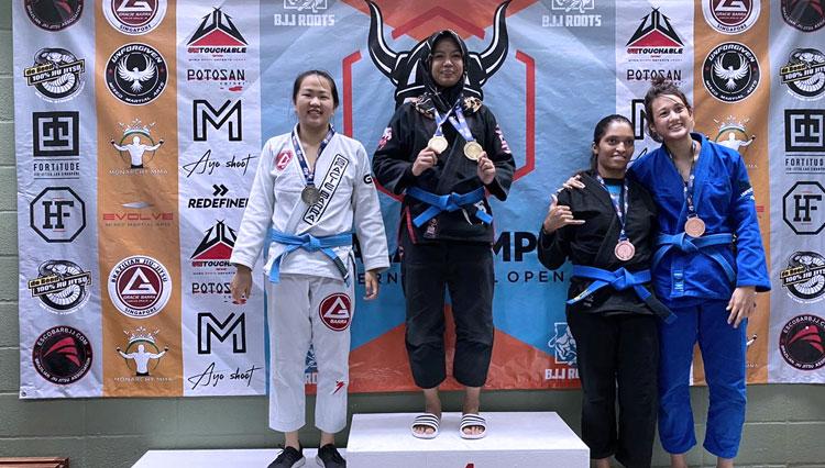UIN Malang Sabet Dua Medali Emas Brazilian Jujitsu Open 2020 di Malaysia