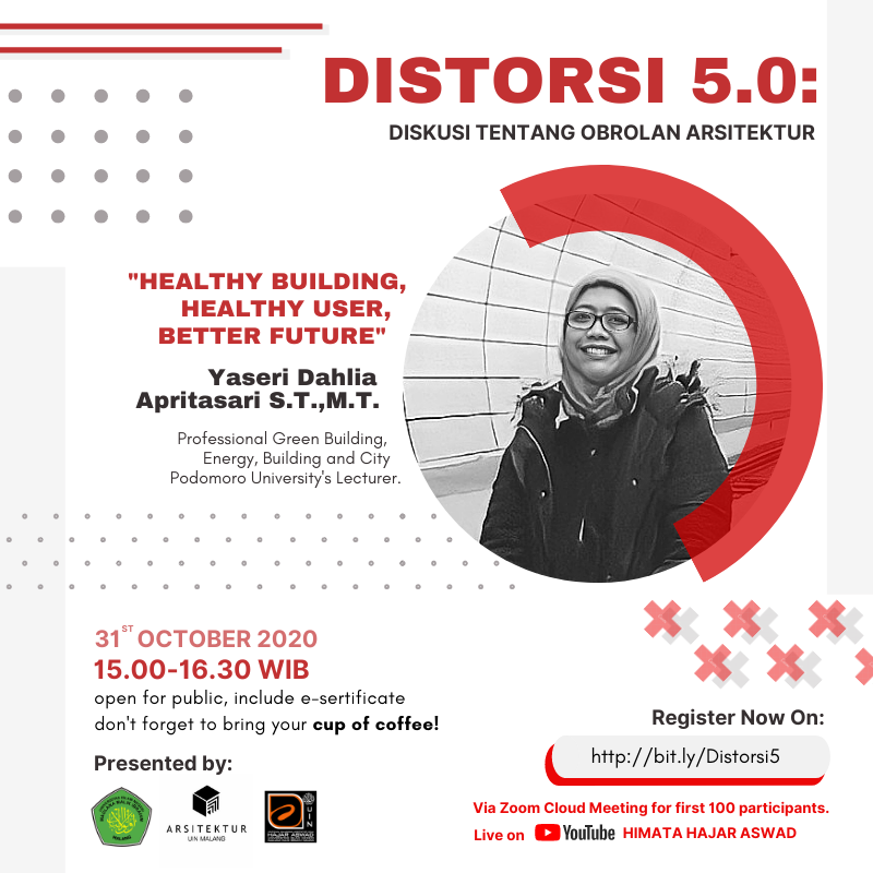 "SEMINAR ONLINE #5 ""HEALTY BUILDING, HEALTY USER, BETTER FUTURE"""