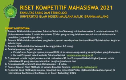 RISET KOMPETITIF MAHASISWA 2021
